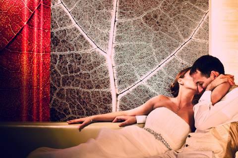az esküvőfotós kedvence: szerelem a levegőben